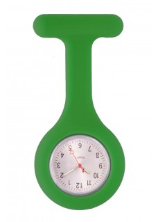 Silicone Nurses Fob Watch Standard Green