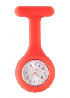 Silicone Nurses Fob Watch Standard Red