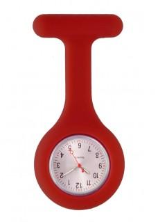 Silicone Nurses Fob Watch Standard Burgundy