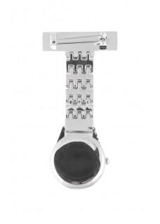 Elegant Fob Watch Silver
