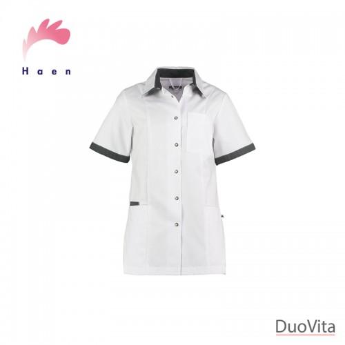 Haen Nurse Uniform Fijke White/Charcoal