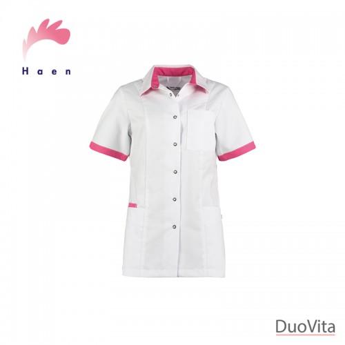 Haen Nurse Uniform Fijke White/Shocking Pink
