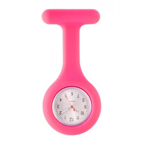 Silicone Nurses Fob Watch Standard Pink