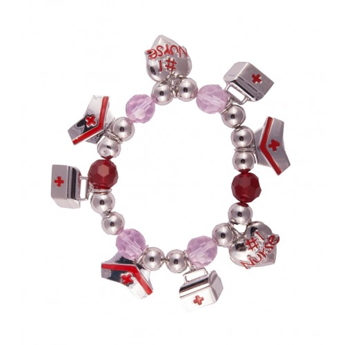Necklace Bracelet Nurse Charms