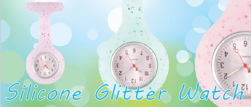Silicone Glitter Watch