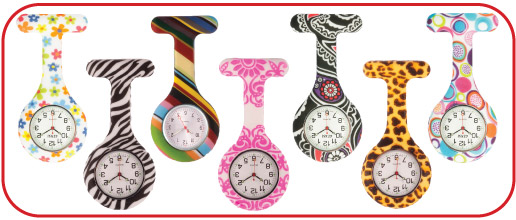 Print Silicone Nurses Watch EU
