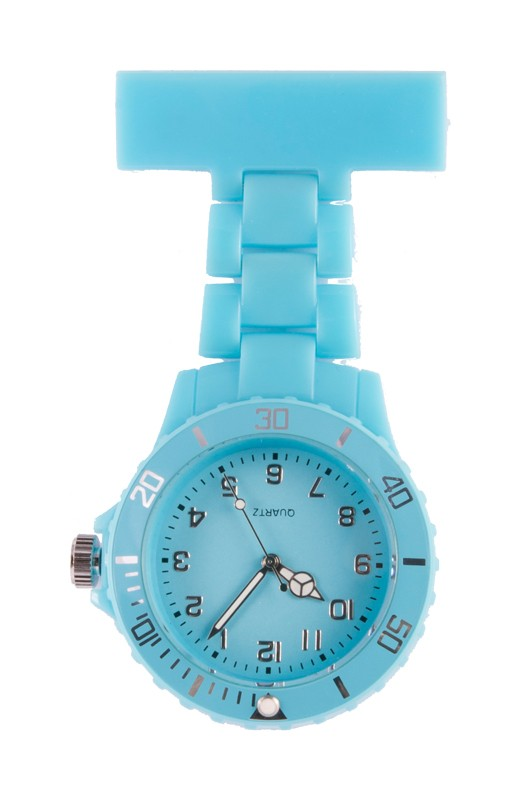 Neon Nurses Fob Watch Turquoise By Nurseoclock For 25 50