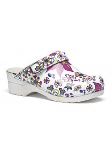 OUTLET size 37 Toffeln Flexi Clog Floral