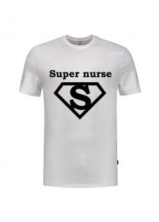 T-Shirt Super Nurse 1 White