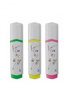 Highlighter 3 Pack Medical Symbols