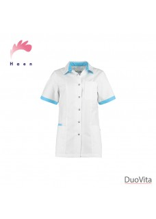 Haen Nurse Uniform Fijke White/Magic Azur