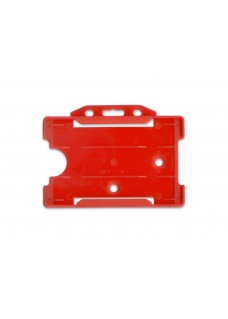 Card ID holder Red