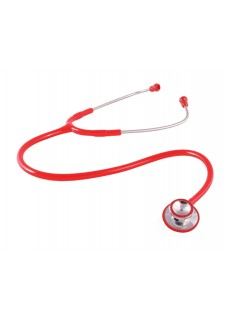 Dual Head Stethoscope Red
