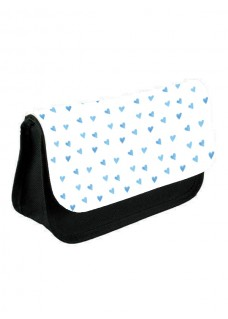 Instruments Case Blue Hearts