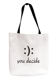 Tote Bag You Decide