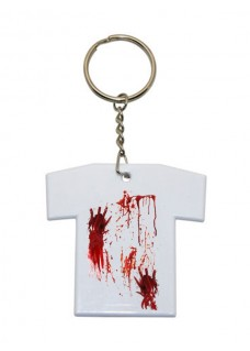 Key Chain T-Shirt Bloodstains