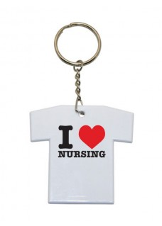 Key Chain T-Shirt I Love Nursing