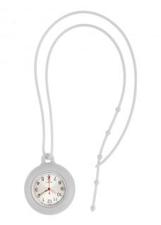 Silicone Lanyard Watch White