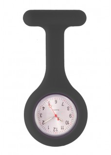 Silicone Nurses Fob Watch Standard Black