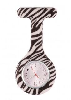 Nurses Fob Watch Zebra