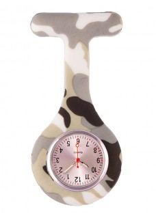 Nurses Fob Watch Camo