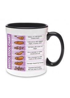 Mug Bristol Stool Chart Black