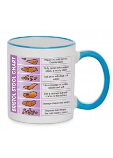 Mug Bristol Stool Chart Blue