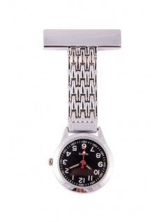 Elegant Fob Watch Black