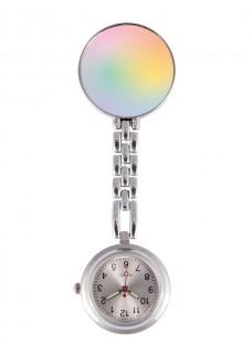 Fob Watch Pastel Rainbow