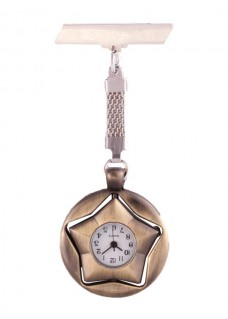 Star Bronze Fob Watch
