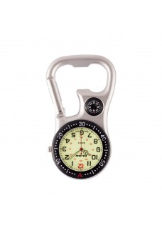 Carabiner Clip Watch NOC463 Black