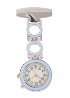 Nurses Fob Watch Bubble Blue