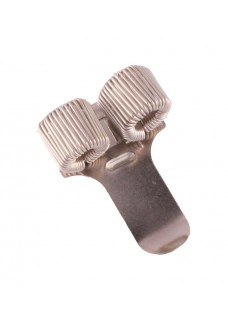 Pocket Penclip Double Silver