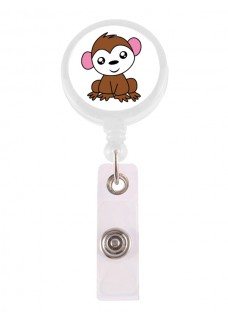 Retracteze ID Holder Monkey