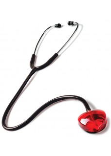 Stethoscope Clear Sound - Heart Edition Black