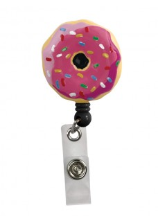 Deluxe Retracteze ID Holder Donut