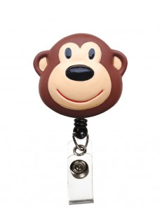Deluxe Retracteze ID Holder Monkey