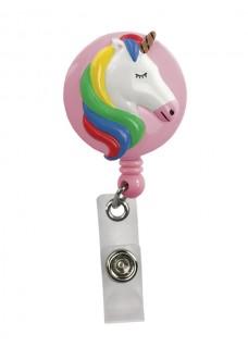 Deluxe Retracteze ID Holder Unicorn