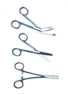 Scissors Set Color Spirals