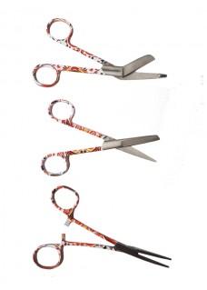 Scissors Set Sunset Flowers