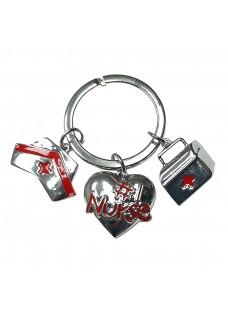 Key Chain Nurse Charms