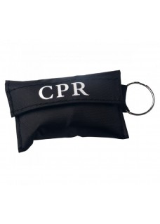 CPR Mask Key Ring Black