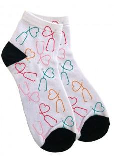 Women's Ankle Socks Lovely Stethoscopes