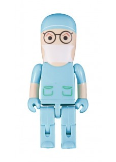 USB Flash Drive Memory Stick Surgeon Turquoise