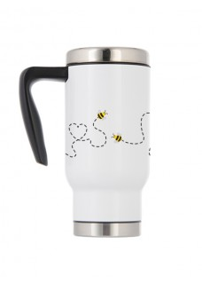 Thermo Travel Mug Bees