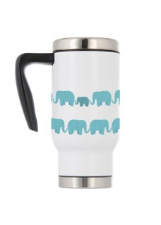Thermo Travel Mug Elephants
