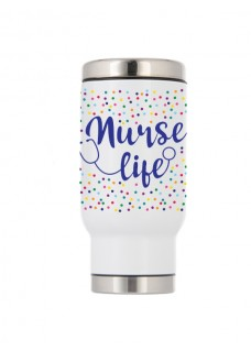 Thermo Travel Mug Nurse Life