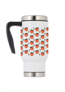 Thermo Travel Mug Peaches