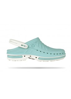 Wock Clog 08 White/Light Blue