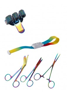 Personal Equipment Set Metal Rainbow